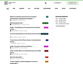 news.humancoders.com screenshot