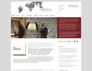 news.ilri.org screenshot