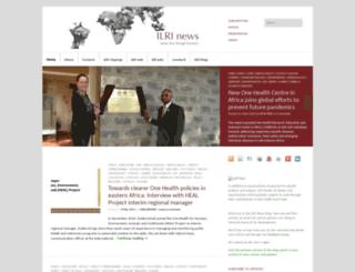 news.ilri.org screenshot