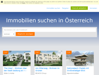 news.immobilienscout24.at screenshot