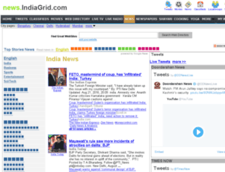news.indiagrid.com screenshot