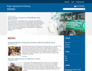 news.ipb.ac.id screenshot
