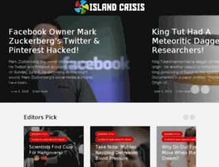 news.islandcrisis.net screenshot