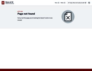 news.iupui.edu screenshot
