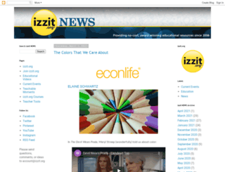 news.izzit.org screenshot