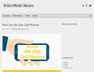 news.killermobi.com screenshot