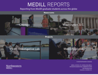 news.medill.northwestern.edu screenshot