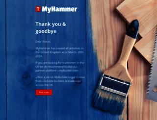 news.myhammer.co.uk screenshot