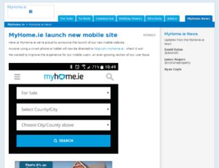news.myhome.ie screenshot