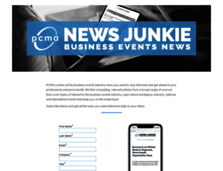 news.pcma.org screenshot