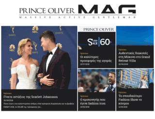 news.princeoliver.com screenshot