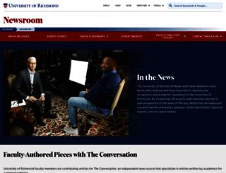 news.richmond.edu screenshot