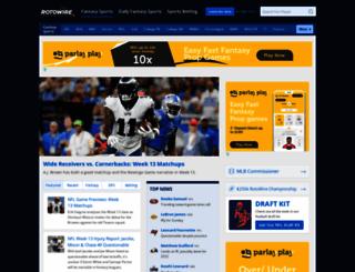 news.rotowire.com screenshot