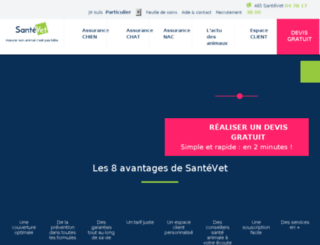 news.santevet.com screenshot