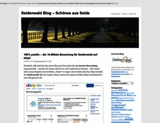 news.seidenwald.de screenshot