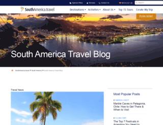 news.southamerica.travel screenshot