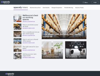 news.spacely.com.au screenshot
