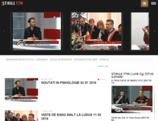 news.stirilettm.ro screenshot