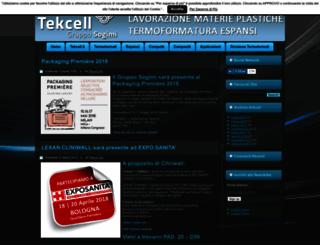 news.tekcell.it screenshot