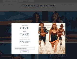 news.tommy.com screenshot