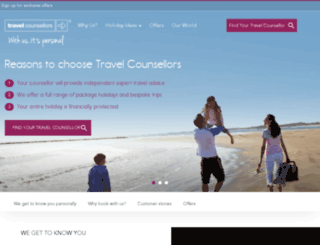 news.travelcounsellors.co.uk screenshot