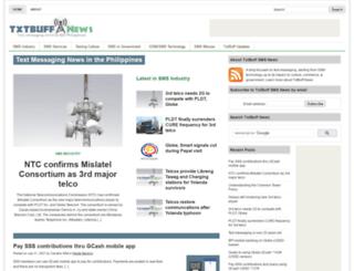 news.txtbuff.com screenshot