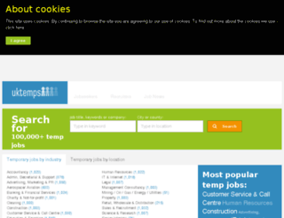 news.uktemps.co.uk screenshot