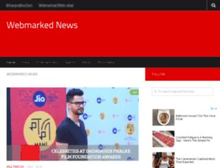 news.webmarked.net screenshot