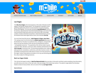news.wedoitallvegas.com screenshot
