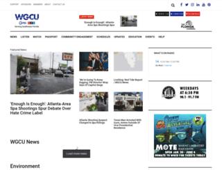 news.wgcu.org screenshot