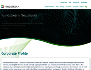 news.windstream.com screenshot