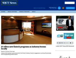 news.wjct.org screenshot