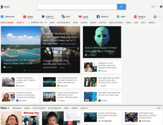 news.xin.msn.com screenshot