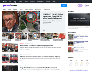 news.yahoo.com.au screenshot
