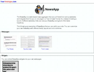 news.yourwebapps.com screenshot