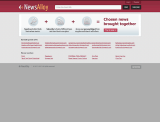 newsalloy.com screenshot