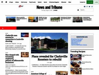 newsandtribune.com screenshot