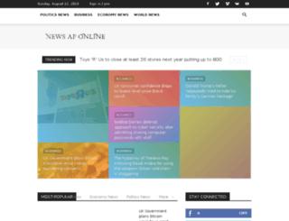 newsaponline.com screenshot