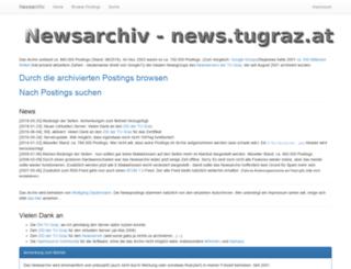 newsarchiv.tugraz.at screenshot