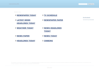 newsarena.info screenshot