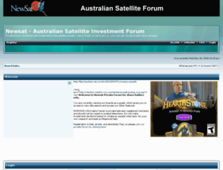 newsatforum.org screenshot