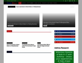 newsblaze.com screenshot