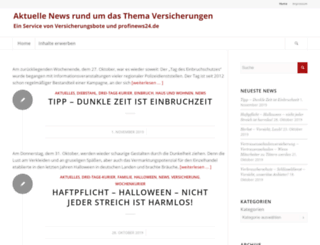newsblog.profinews24.de screenshot