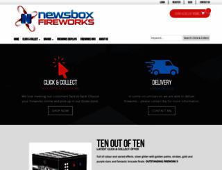 newsboxfireworks.co.uk screenshot