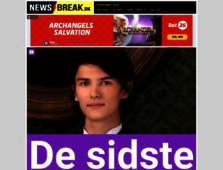 newsbreak.dk screenshot