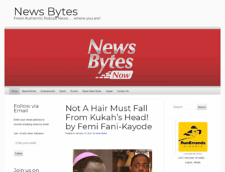 newsbytesnow.wordpress.com screenshot