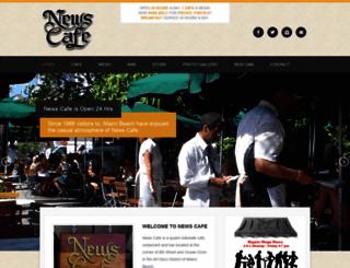 newscafe.com screenshot