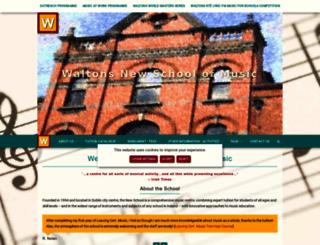 newschool.ie screenshot