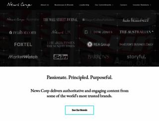 newscorp.com screenshot