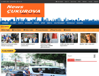 newscukurova.com screenshot